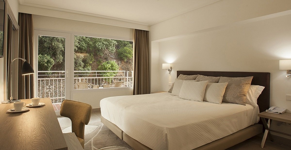 Mountain View Double Room Hotel Continental Valldemossa Valldemossa